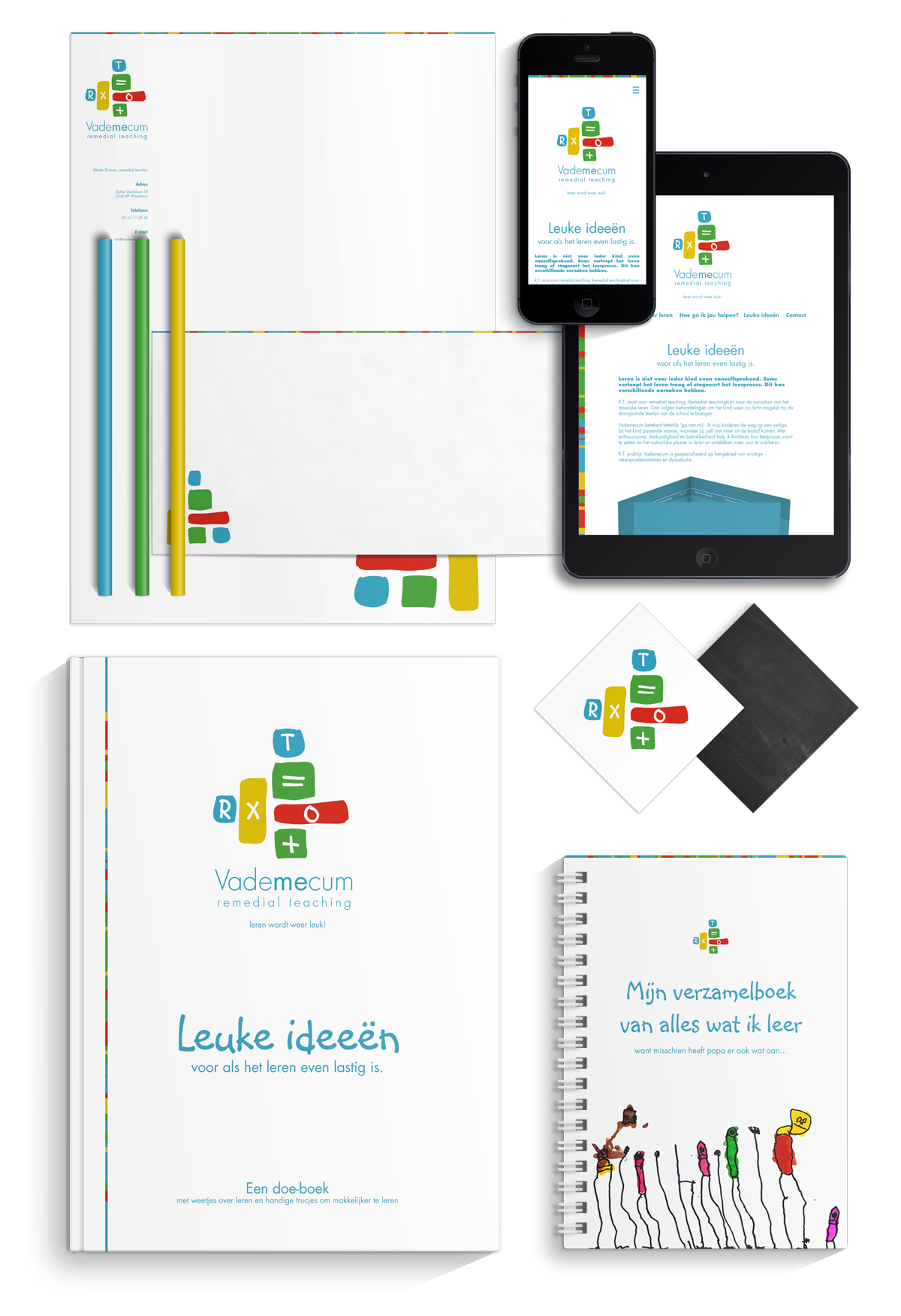 Vademecum remedial teaching - Identiteit Too Many Words | Infographics & identiteit te Utrecht